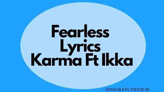 ferrless lyrics karma