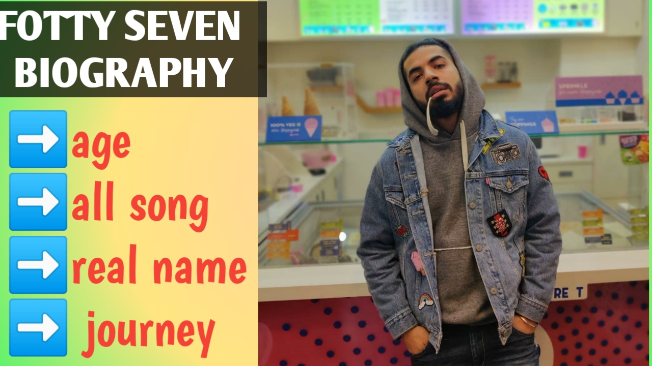Fotty seven biography and his all song list sotty seven real name