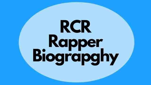 RCR rapper
